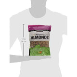 Dry Roasted Salted Almonds Kirkland Signature Kosher Sea Salt (1.13kg 40oz). - shopperskartuae