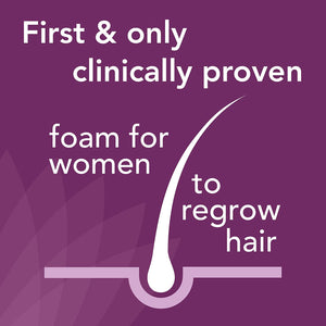 Regaine Hair Regrowth Foam for Women, 73 ml, Pack of 2, 4 Months Supply