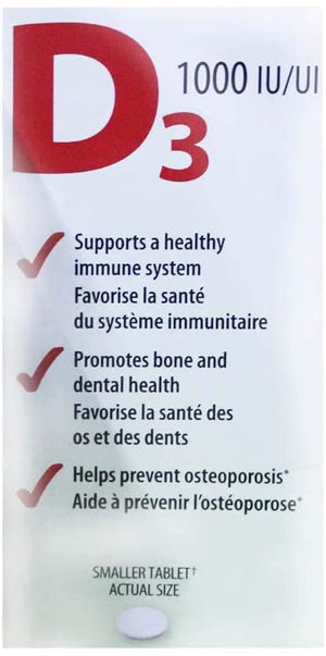 Jamieson Supports a healthy immune system and bone health…