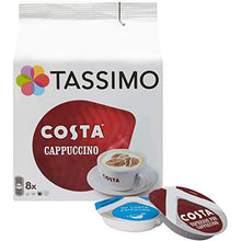 Load image into Gallery viewer, Tassimo Costa Cappuccino Coffee Discs (8 servings). - shopperskartuae