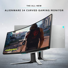 Load image into Gallery viewer, New Dell Alienware 34 Inch Curved Gaming Monitor (AW3420DW). - shopperskartuae