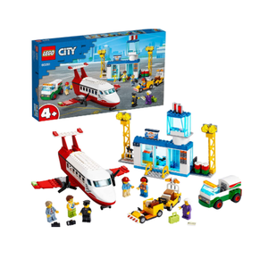 LEGO City Airport Central Airport 60261 building set with charter plane and 6 minifigures, Toy for Boys and Girls 4+ years (286 pieces)