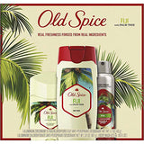 Old Spice Fiji Men's Invisible Solid Antiperspirant and Deodorant (73g) - With Palm Tree.