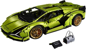 LEGO Technic Lamborghini Sián FKP 37 (42115), Building Project for Adults, Build and Display This Distinctive Model, a True Representation of The Original Sports Car, New 2020 (3,696 Pieces)