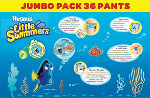 Huggies Little Swimmers Size 3/4, 36 Pack