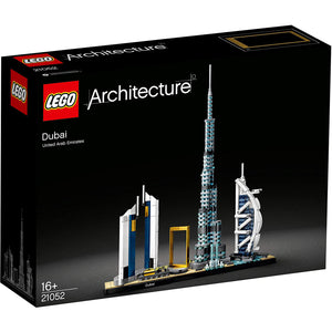LEGO 21052 Architecture Dubai Model, Skyline Collection, Collectible Building Set. - shopperskartuae