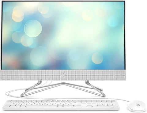 HP All-in-One 24-df0064na Desktop 24 inch FHD IPS i5-10400T, 256 GB SSD, 8 GB RAM, 16 GB Intel® Optane Memory, Windows 10 Home USB white wired keyboard - 268X3EA