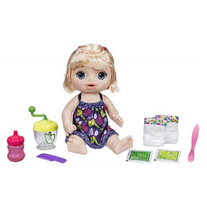 Baby Alive Sweet Spoonfuls Baby Doll - Blonde - shopperskartuae