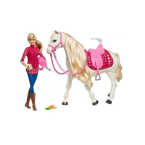 Barbie DreamHorse Toy - shopperskartuae