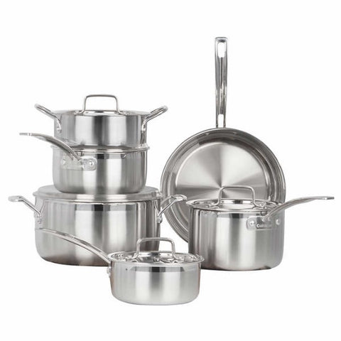 Cuisinart Multiclad Pro Stainless-Steel 10-pc Cookware Set - Shoppers-kart.com