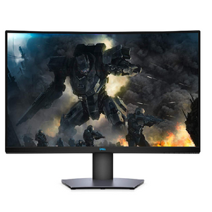 Dell S3220DGF 31.5 Inch VA, Anti-Glare, LED Edgelight System 2019 Curved Gaming Monitor (Black) 4 ms Response Time, QHD (2560 x 1440 AT 165 Hz, 2xHDMI, 4Xusb 3.0 with AMD Radeon FREE-Sync