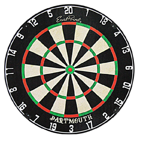 Eastpoint Sports Dartmouth Bristle Dartboard, 1 Game set included