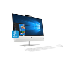 Load image into Gallery viewer, HP Pavilion All-in-One 24-xa0000ne I7-8700/8GB DDR4/1TBHDD/24 Touch/Win 10 Home/Snowflake white - shopperskartuae