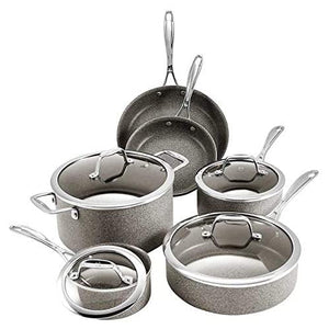 J.A. Henckels International 10-piece Capri Granitium Non-stick Cookware Set - Shoppers-kart.com