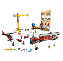 Load image into Gallery viewer, Lego City Downtown Fire Brigade Building Set (Multi-Colour, 60216). - Shoppers-kart.com