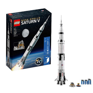 LEGO Ideas NASA Apollo Saturn V - shopperskartuae