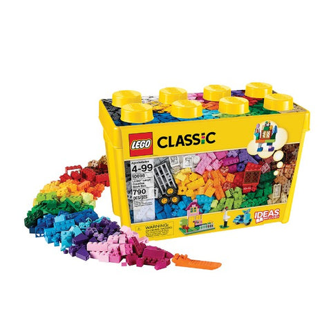 LEGO 10698 Classic Large Creative Brick Box (790 Pieces). - Shoppers-kart.com