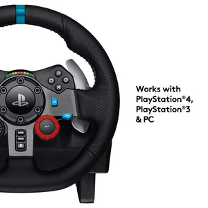 Logitech G29 Driving Force Race Wheel with Gear For Playstation 3/4 and PC [nintendo_2ds] - shopperskartuae