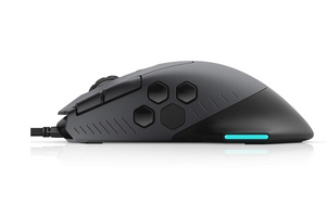 Alienware RGB Gaming Mouse AW510M: 16, 000 DPI Optical Sensor - Alienfx RGB - 10 Buttons - Adjustable Scroll Wheel - Large Click Anywhere L/R Buttons - shopperskartuae