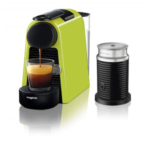 NESPRESSO by Magimix Essenza Mini Coffee Machine with Aeroccino -Green - shopperskartuae