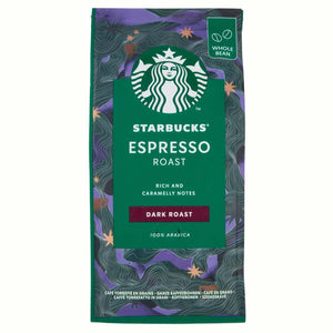 Starbucks Espresso Roast Dark Roast Whole Bean Coffee (200g)