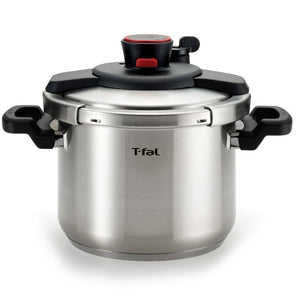 T-fal Clipso 6 L (6.3 qt.) Stainless Steel Pressure Cooker - shopperskartuae