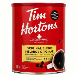 Tim Hortons Original Blend Fine Grind Coffee (1.36 kg).