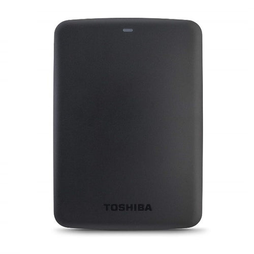 Toshiba 500GB Canvio Basics Portable USB3.0 Hard Drive Black -HDTB405EK3AA - shopperskartuae