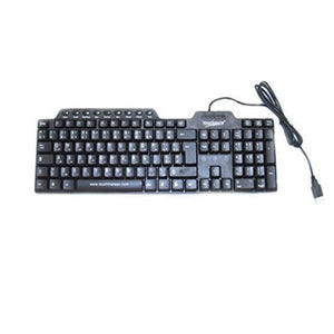 Touchmate Ultra Flat Internet Slim Keyboard TM-KB2600 - shopperskartuae