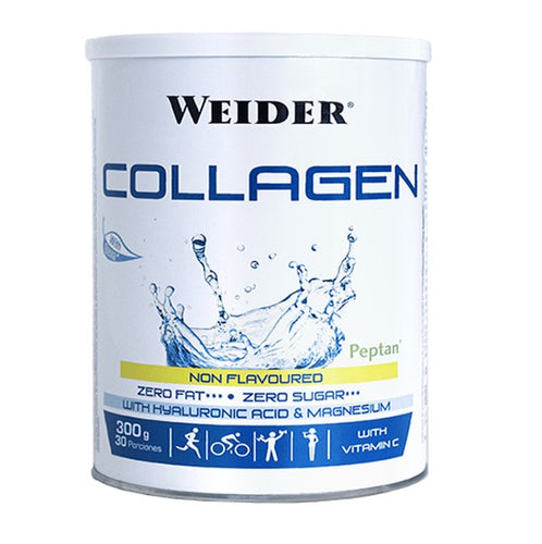 Weider Collagen Peptan Powder, Hyaluronic Acid, Vitamin C and Magnesium (300 g) - shopperskartuae