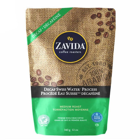 Zavida - Swiss Water Decaf Whole Bean Coffee - Shoppers-kart.com