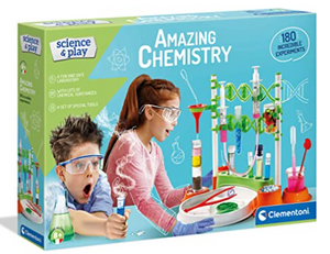 Clementoni Science & play Amazing Chemistry 180 incredible experiments.