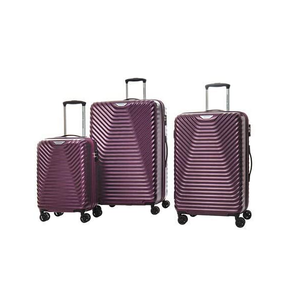 American Tourister Sky Cove 3-piece Hardside Luggage Set-Imperial purple…
