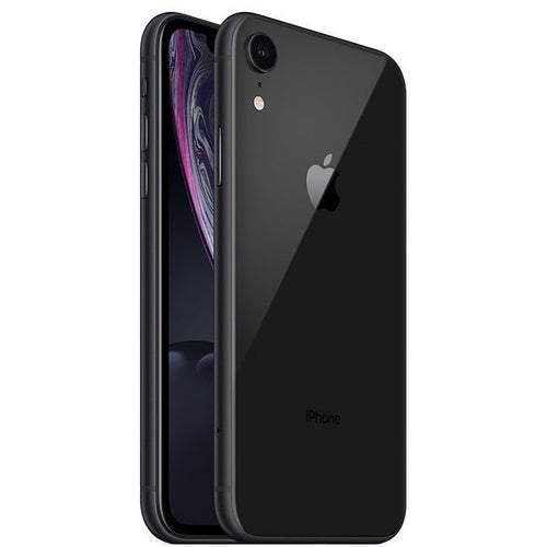 Apple iPhone XR Smartphone, 64 GB Single SIM & E-SIM Black - shopperskartuae