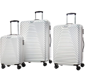 American Tourister Sky Cove 3-piece Hardside Luggage Set - Silky White…