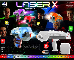 Laser X Revolution 4 Blaster Laser Toy Game (6+ Years)