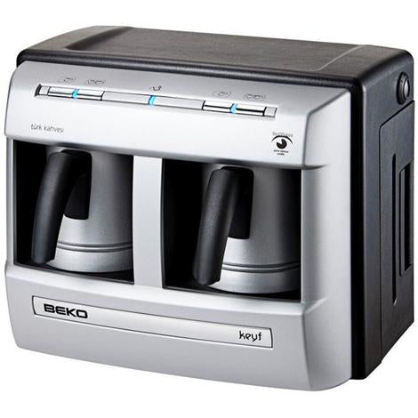 Beko Turkish Coffee Machine with Double Pot - BKK 2113P - shopperskartuae