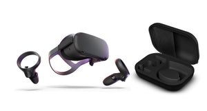 Oculus Quest All-in-one VR Gaming Headset – 128GB-Bundle - shopperskartuae