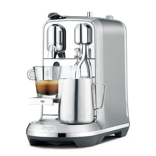 Nespresso Creatista Plus Coffee Machine- Silver by Sage - shopperskartuae