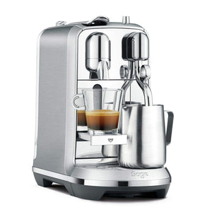 Nespresso Creatista Plus J520 Silver Coffee Machine, J520-ME-ME-NE, Silver, 1 Year Brand Warranty. - shopperskartuae