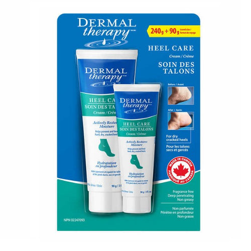 Dermal Therapy pack of 2 Cracked Heel Treatment - Non Greasy Foot Care Lotion To Repair Dry Feet - shopperskartuae
