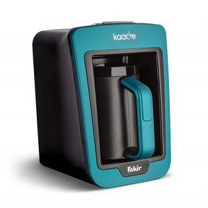 Fakir Kaave Automatic Turkish Coffee Maker Machine, Turquoise - shopperskartuae