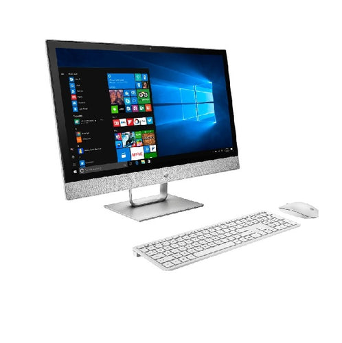 HP Pavilion 24 R159C All In One Desktop Intel Core i5-8400T, 12GB RAM,1TB HDD+ 128GB SSD,23.8 Inch Touch,Win 10 Home,Wireless KB Mouse - shopperskartuae