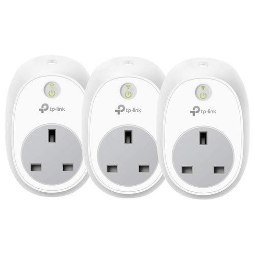 TP-Link Smart Plug WiFi Outlet, Works with Amazon Alexa (Echo and Echo Dot), Google Home and IFTTT, Wireless Smart Socket Remote Control Timer Plug Switch, No Hub Required (3-pack) - shopperskartuae