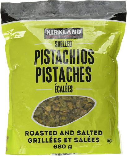 Kirkland Signature Shelled Pistachios (680g) - Roasted And Salted. - Shoppers-kart.com