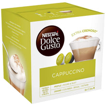 Load image into Gallery viewer, NESCAFÉ Dolce Gusto Cappuccino Capsules (Pack of 16). - shopperskartuae