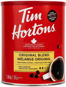 Tim Hortons Original Blend Fine Grind Coffee (1.36 kg). - shopperskartuae