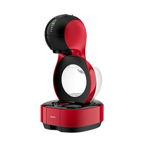 Nescafe Dolce Gusto Krups Lumio Automatic Coffee Machine, Red - shopperskartuae