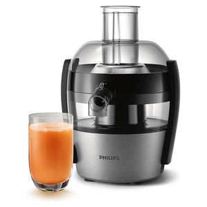 Philips Viva Collection Compact Juicer, 1.5 Litre, 500 Watt HR1836/01 - Brushed Aluminium. - Shoppers-kart.com