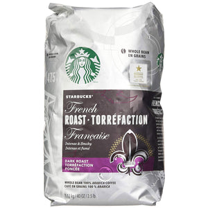 Starbucks French Roast Whole Bean Coffee Powder (1.13 Kg). - shopperskartuae